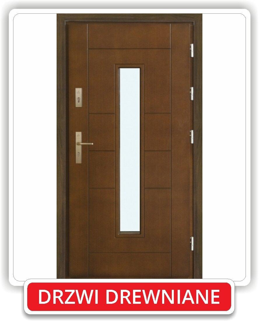 Modernistyczne Drzwi zewnętrzne - Stoldrew - producent okien i drzwi, okna PCV TP97